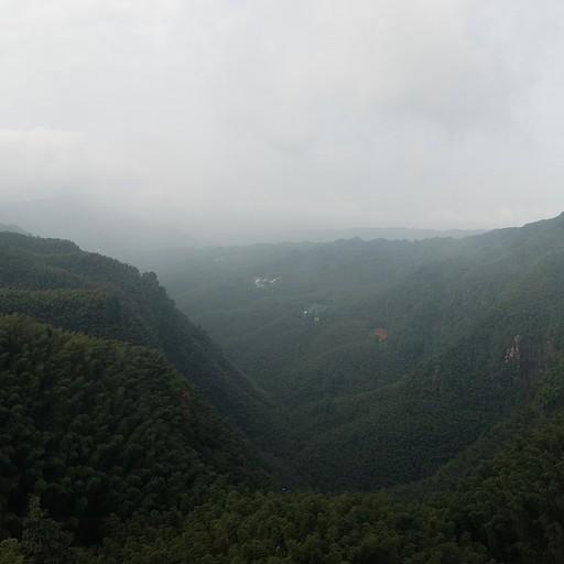 נוף מהפגודה שליד הEmerald Promonade
