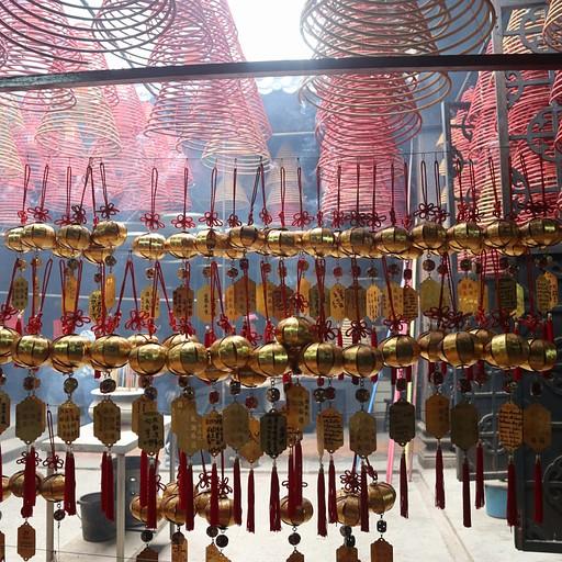 ספירלות שהן קטורת שלא נגמרת, Yau Ma Tei Tin Hau Temple
