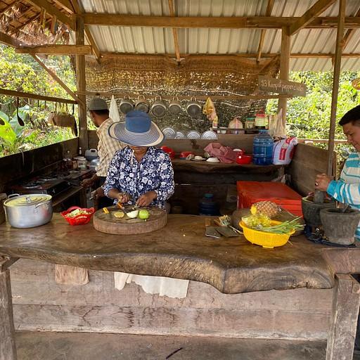 מטבח מקומי אותנטי