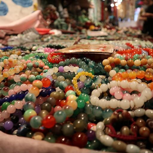 תכשיטים בשוק הג'ייד