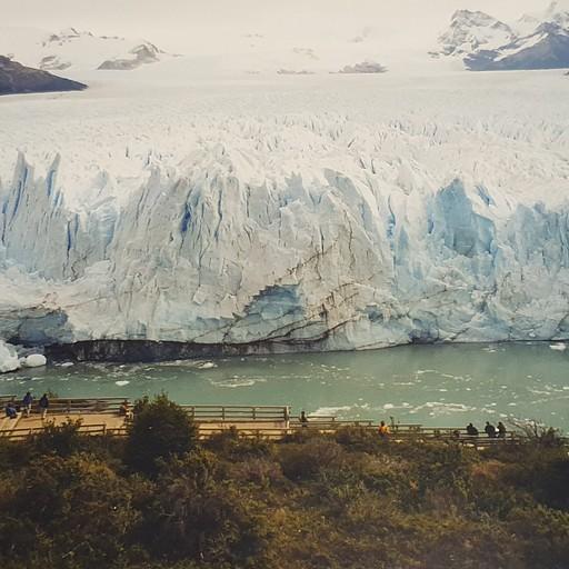 פריטו מורנו - הקרחון המתנפץ