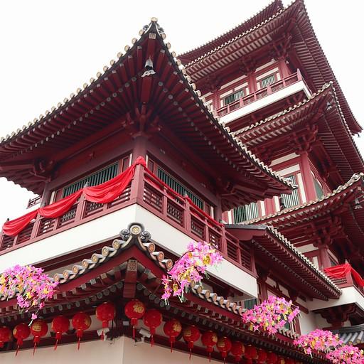 מקדש בChina Town