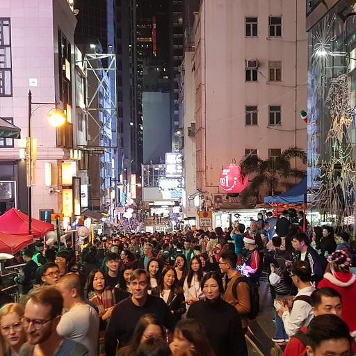 ערב חג המולד בהונג קונג
