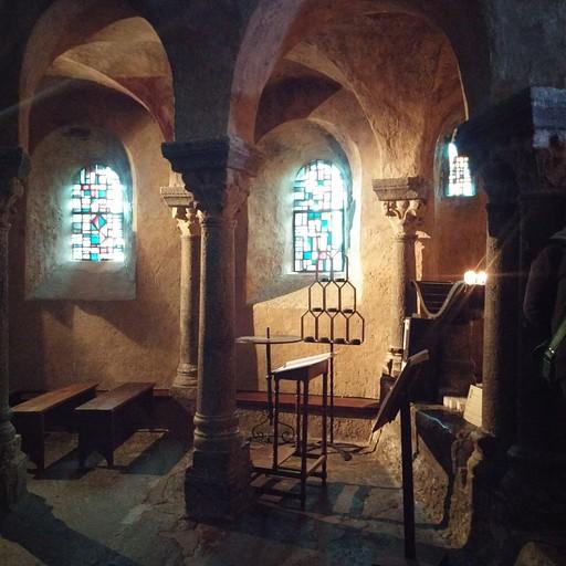 בקפלה Saint Michel d'Aiguilhe