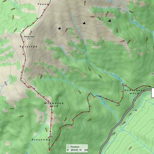 יום ד' חלק 3  *להתמיד על המסלול האדום. הדרך עוברת בתוך יער ונוחה להליכה.