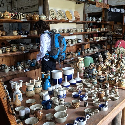 חנות הקרמיקה ב-Pottery Lodge