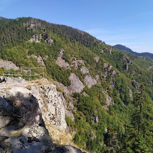 נקודת תצפית - קניון המפלים