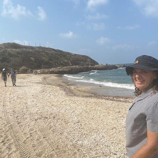 קטע החוף שלפני תל דור
