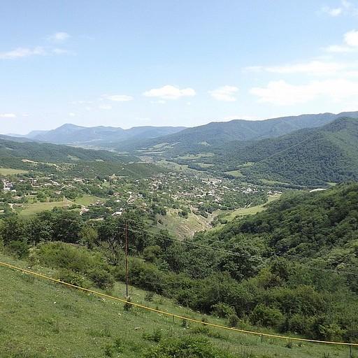 הנוף הנשקף מהמנזר