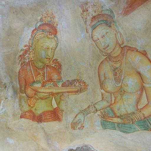 נערות החן - ציורי קיר ארוטיים במעלה הסלע בסיגיריה