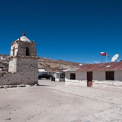 כנסייה ב-Parinacota