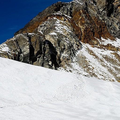 ההליכה על הקרחון לפני הפאס