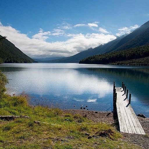 הנוף מבקתת Cold Water
