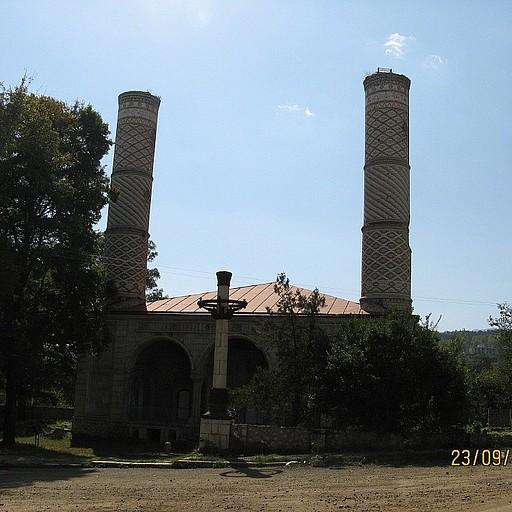 נקודת הסיום: המסגד המרכזי