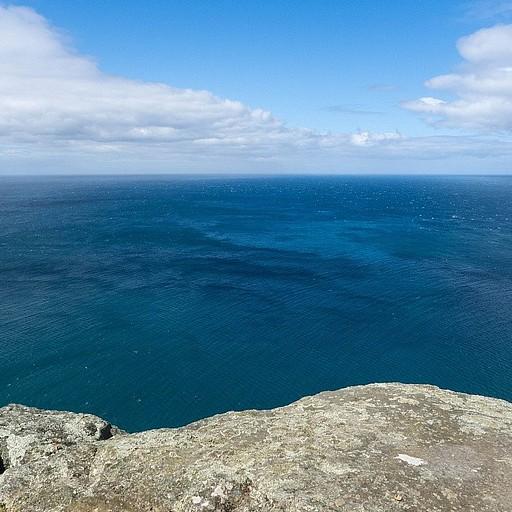 מבט לכיוון אוסטרליה מ-The Nut.