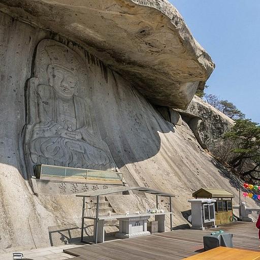 המקדש Bomun-sa.