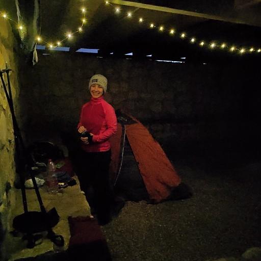 חניון בורות לוץ-יש מחסה מפני הגשם