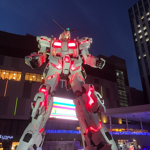 Gundam in Diver City
