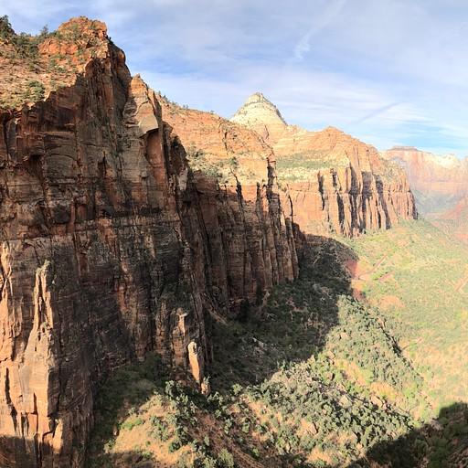 Canyon overlook - פארק ציון