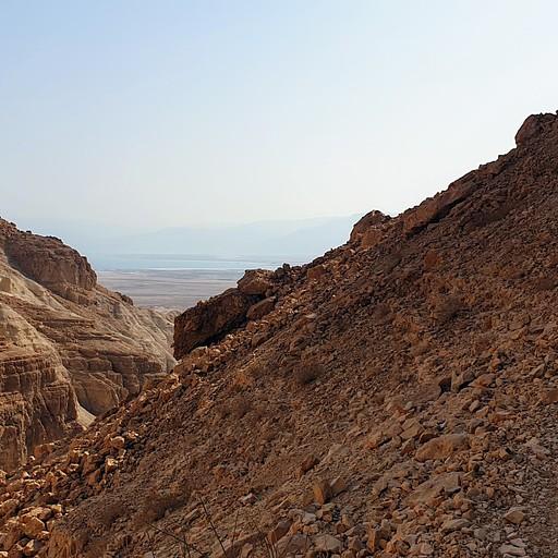 חומת המצור בדרך למחנה ח'