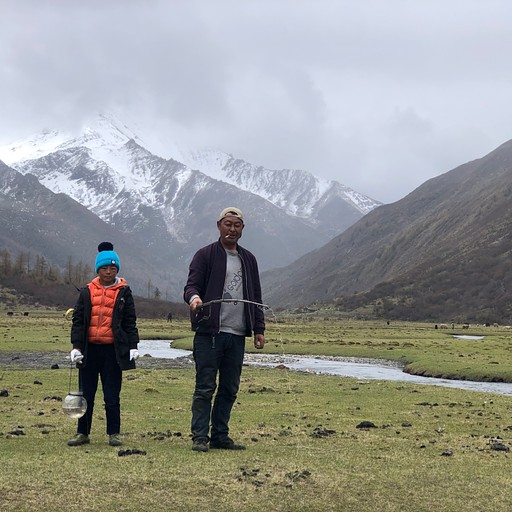 טיבטי ובנו בדייג נהרות