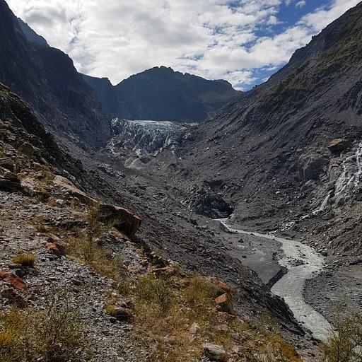 Fox Glacier- קרחון בנסיגה מתמדת