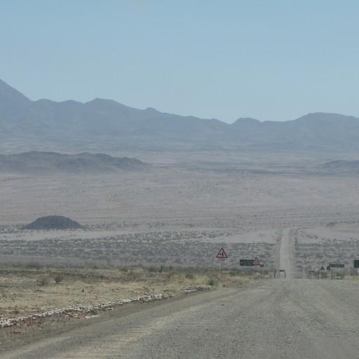 כבישי העפר של נמיביה