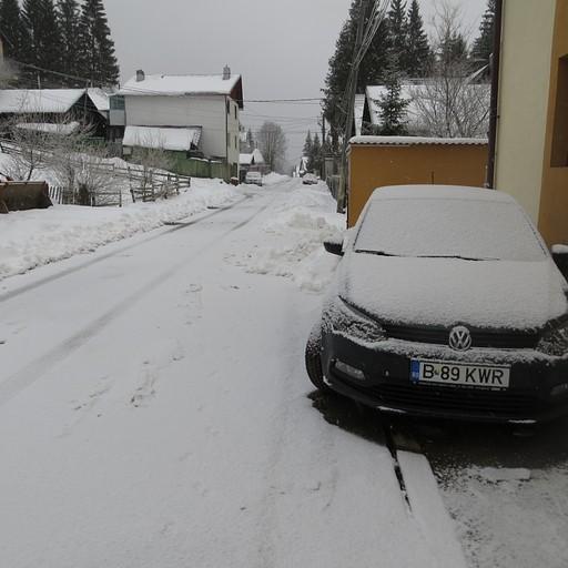 האוטו שלנו אחרי הסופה