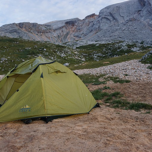 השטח החולי עליו הקמנו את האוהל