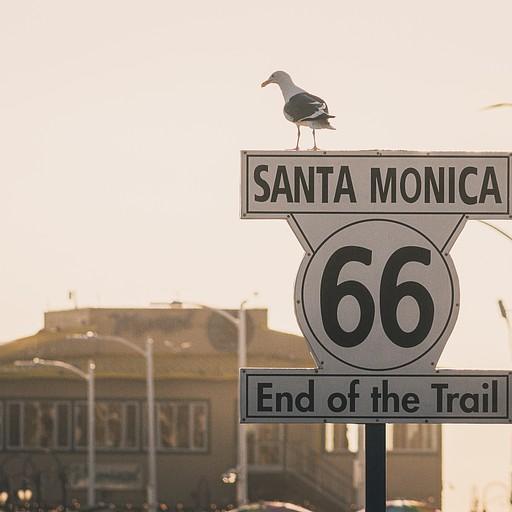 כאן הסתיים בעבר כביש 66