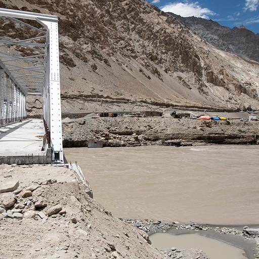 הגשר ממנו מתחילים את המסלול - נמצא מעט אחרי chiling