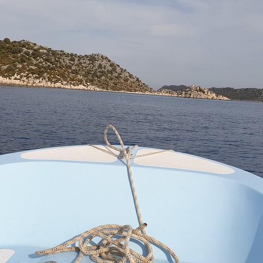 מ Kalekoy בסירה עד Demre