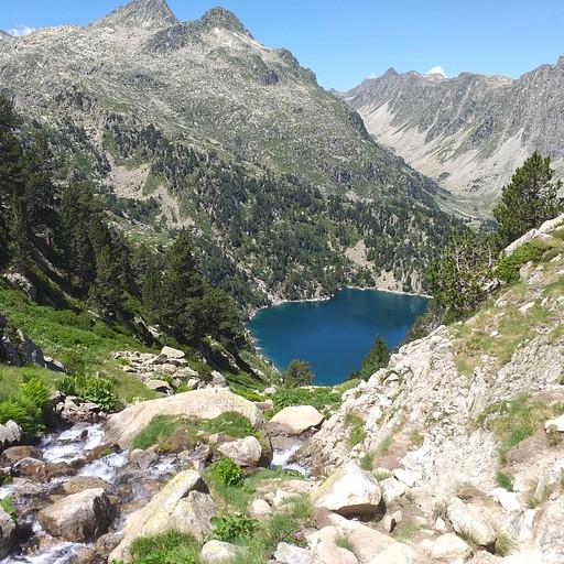 אגם רסטנקה מלמעלה