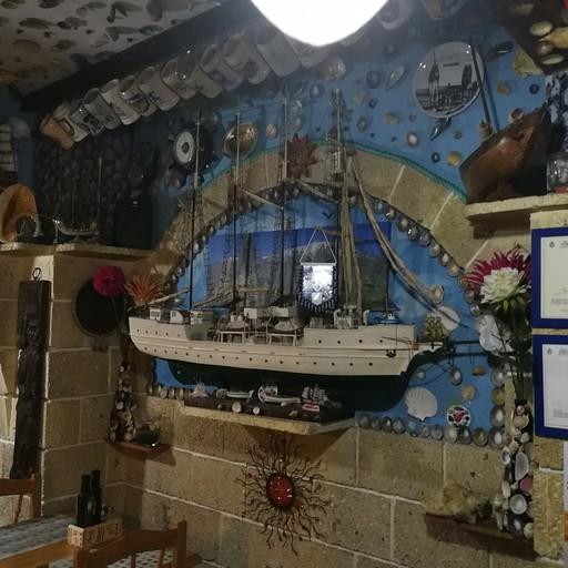 במסעדה הזאת אכלנו את הקאסואלה. (Rincón del mar)