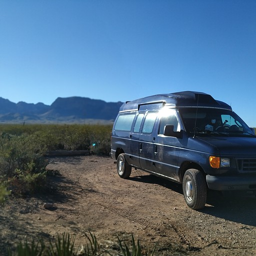 Big Bend National Park- Backcountry camping area