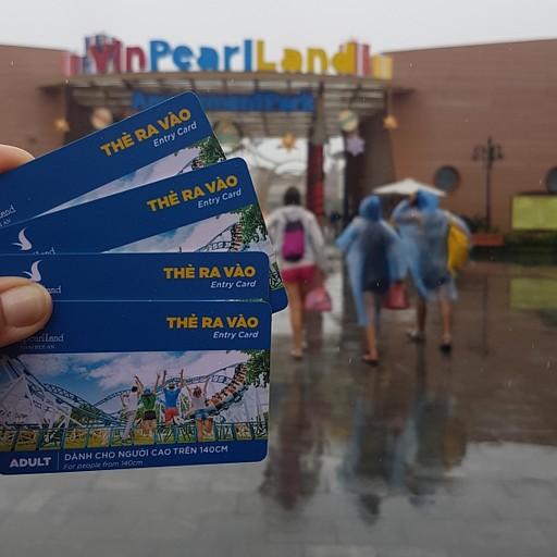 פארק Vinpearl - היה כיף אפילו בגשם (שהפסיק)