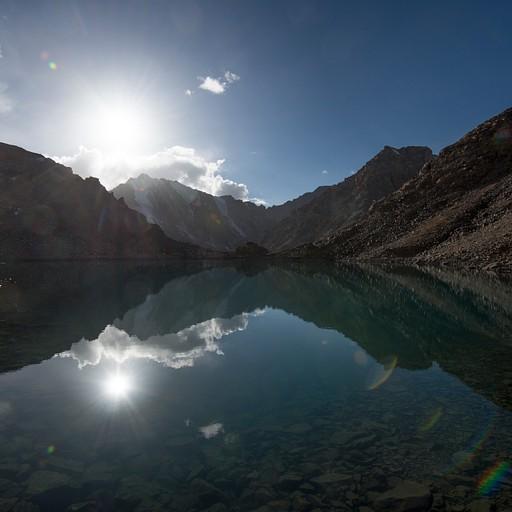 האגם בפאס בגובה 4700