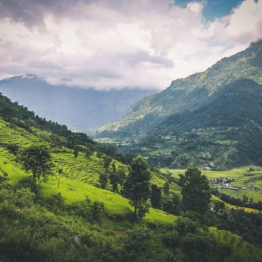 הנוף בדרך לבולבולה