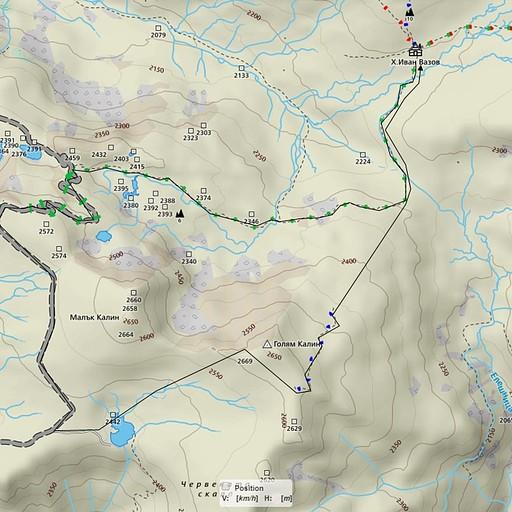 יום ג'  * המסלול עצמו מסומן בצבע צהוב ולא ירוק (ההבדל היחיד בין המפה לשטח). * הירידה מההר חדה, תעקבו אחרי הרוג'ומים.