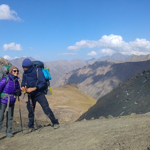 מעבר Teleti. 3780 מטרים.