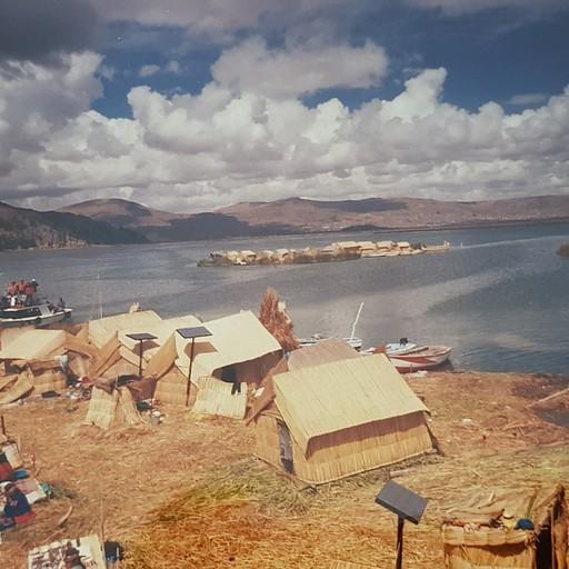 אגם טיטיקקה -  האיים הצפים