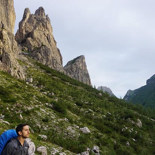 העליה לפס Forc del Camp