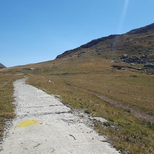 החץ הצהוב שמורה על תחילת המסלול, תמצאו אותו והכל יזרום :)