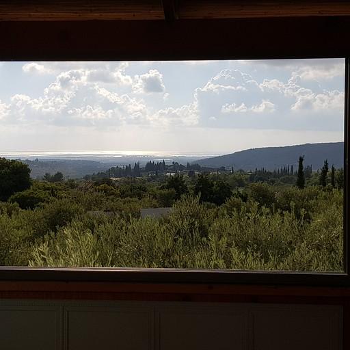הנוף מהגסטהאוס בכליל