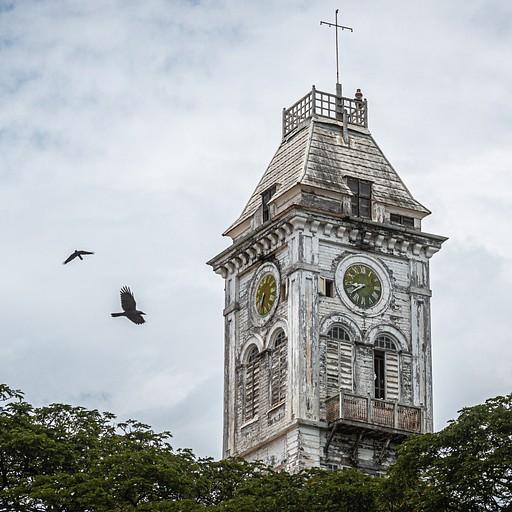 מגדל השעון של בית הפלאים