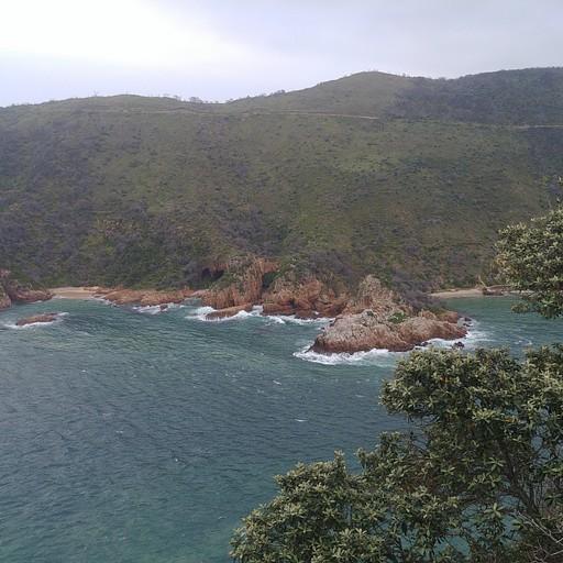 הנוף מ-Knysna Head