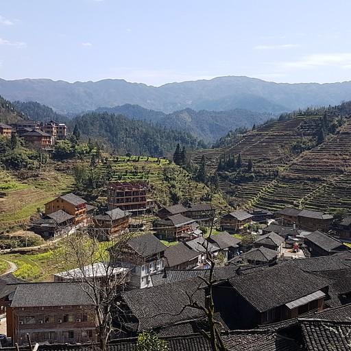 כפר Pingan מלמעלה