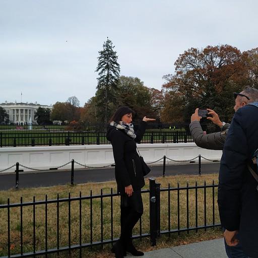הבית הלבן, לא היה מאוד מרשים.