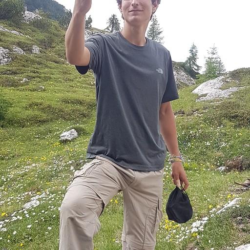 ישראלי בן 17 שעשה את הטיול לבד!