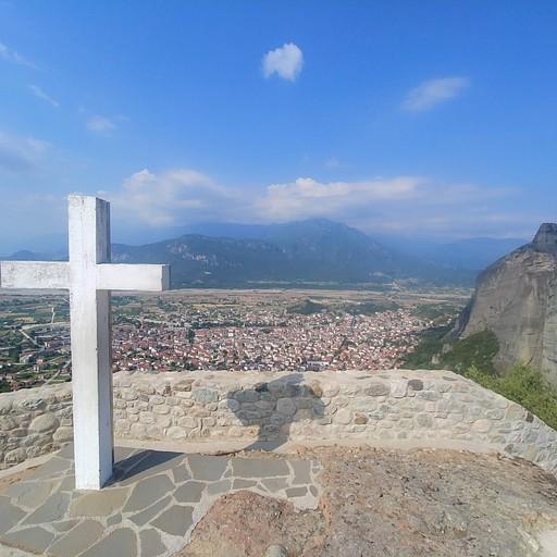 הנוף ממנזר Holy Trinity Monastery